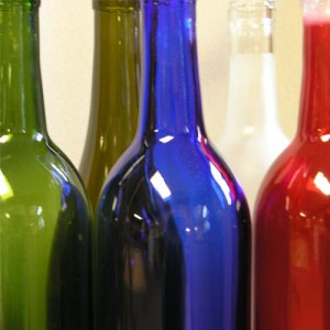wine bottle colors