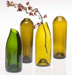 Craft Ideas Empty Wine Bottles on Wine Bottle Vases Ps92f 24431