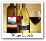Promotional Wine Labels