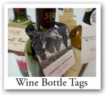 promotional custom Wine Bottle Neck Tags
