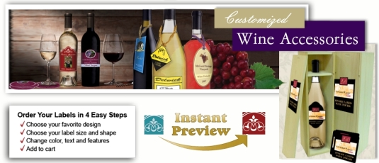 Wine Bottle Labels - Custom Wine Bottle Tags and Personalize Wine Coasters and Bottle labels with Photo.html