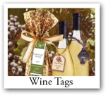 Personalized Wine Hang Tags and custom drink tags for weddings, wine hang tags, wine bottle favor tags, drink tags